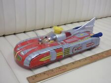 Moon Space Mobile Tin Lithographed Battery Operated Toy Car Japan