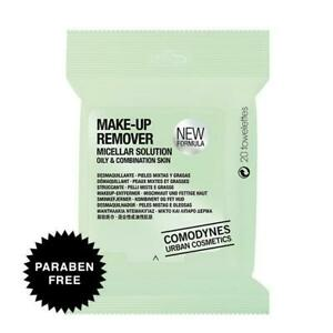 Comodynes Make-Up Remover Micellar Solution Oily & Combination Skin Towelettes