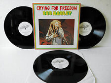 Bob Marley - Crying For Freedom - 3 X Vinyl near Mint | LP White Time Wind Label