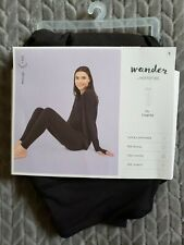 Wander by Hottotties Midweight Black Legging with Velvet Inside Size Small
