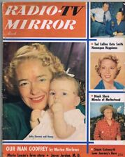ORIGINAL Vintage March 1952 TV Radio Mirror Magazine Julie Stevens Dinah Shore