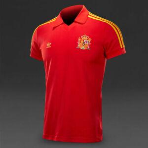 MEN'S ADIDAS SPAIN NATIONAL #10 FOOTBALL SOCCER SHIRT JERSEY CAMISETA SIZE XS