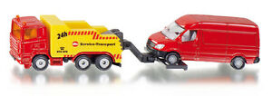 Tow Truck With Car, Siku Super ,Art.1667 ,Novelty 05/2013, Boxed