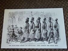 Old British Victorian Police PUNCH Cartoon Print NEW reprint of Original