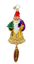 Christopher Radko - Woodland Wanderer - Santa - Retired Ornament 1015726