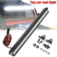 1 Pcs Super Bright 36 LED Light Bar Roof Lamp For Traxxas SCX10 RC Crawler Z2K8