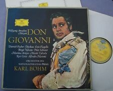 MOZART Don Giovanni FISCHER-DIESKAU BOHM DG Tulips Germany NEAR MINT BOX SET