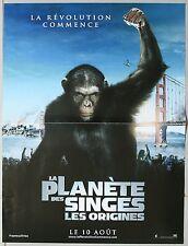 LA PLANETE DES SINGES Les Origines Affiche Cinéma / Movie Poster 55x40