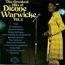 DIONNE WARWICK The Greatest Hits Of Dionne Warwicke Vol.2 LP Hallmark 1970 EX