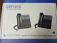 GRANDSTREAM VoIP 1 Line 2 calls HD IP Phone Speaker Phone Headset Jack