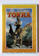 The Wonderful World of Disney TONKA Horse Indian Custer's Last Stand Movie DVD