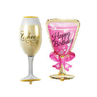 Foil balloons rose gold wine glass Wedding gifts Birthday Party decoration SYJY