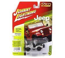 Johnny Lightning 1:64 Classic Gold 2018 Release 1 Version B Jeep CJ-5 JLCP7110