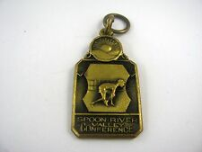 Rare Vintage 1938 Sports Medal Award Spoon River Valley Conference 100 Yd Dash