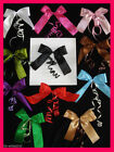 2 X Large FABRIC Ribbon BOW Wedding Birthday Christmas Present Tree Decoration