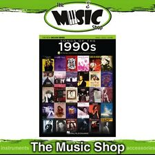 New Songs of the 1990s PVG Music Book with OLA - Piano, Vocal, Guitar
