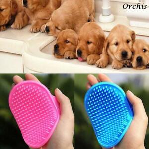 Pet Palm Brush Adjustable Dog Brush brush oval Grooming Bathing Hair Grooming
