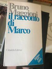 MAGGIONI - IL RACCONTO DI MARCO - CITTADELLA - 1983