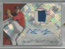 2014 Bowman Platinum ATOMIC REFRACTOR PATCH/AUTO Archie Bradley D-BACKS #d 5/5