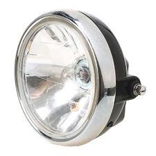 Universal Motorcycles Motorbike EN 125 Headlight 7'' Headlamp Head Amber Light