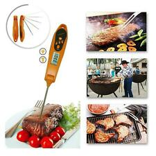 FDA Instant Read Meat Thermometer Digital LCD Cooking BBQ Food Thermometer