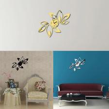 New Fashion DIY Wall Clock Decal Sticker Home Living Room Decor Real Clock