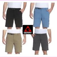 Gerry Men's Venture YKK zipper adjustable belt 5 belt loop Cargo Short