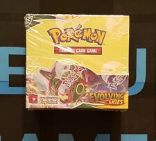 More details for evolving skies booster box - 36 booster packs - sealed -  pokemon tcg