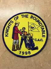 KNIGHTS FOF THE ROUNDTABLE C.A.C. 1998 BSA PATCH