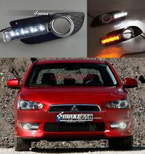 DRL Daytime Running Light Fog Day Lamp W/Turn For MITSUBISHI Lancer EX 2010~12