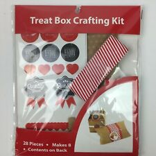 Treat Box Crafting Kit 28 Pieces Makes 8 Gift Boxes Baking Candy Making Holidays