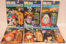 Robotech : Rick Hunter, Rand, Lisa Hayes, Lynn Minmei + 2 0Ther Action Figures