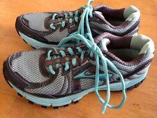 BROOKS Flextra ASR MOGO DNA Track ATHLETIC Shoes Women's 7.5 Gym Sneakers AQUA D