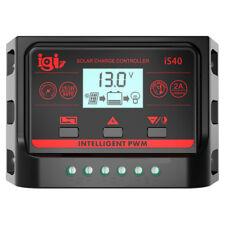 30A LCD Batterie solaire Panneau de Contrôleur de Charge Régulateur USB 12V/24V