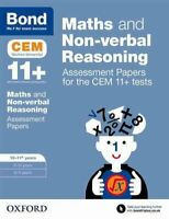 Bond 11+ Maths and Non-verbal Reasoning Assessment Papers for t... 9780192742872