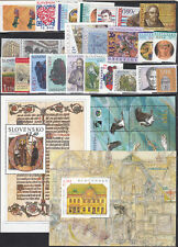 SLOVAKIA MNH Complete Year set 2015 23 Stamps+ 3 Souvenis sheets