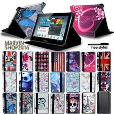 "For Various 7"" 8"" 10"" Samsung Galaxy Tablet -FOLIO LEATHER STAND CASE COVER +pen"