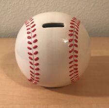 Baseball Shape Piggy Bank For Saving Money And Sports Room Decor
