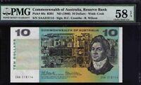 Commonwealth of Australia SAA First Prefix Resrve Bank Pick#40a R301F PMG 58 EPQ
