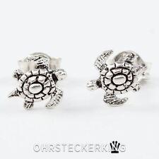 Ohrstecker Schildkröte (Wasser) klein, Echt  Silber (925-Silber) ☆Neu☆