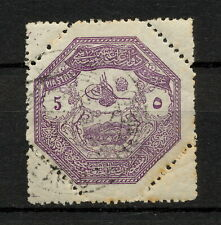 (YYAR 305) Turkey 1898 USED Mich E85 Scott M5 MILITARY