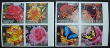 TADSCHIKISTAN TAJIKISTAN 2012 Schmetterlinge Blumen Insekten Flowers Ungezähnt