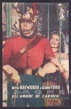 RITA HAYWORTH 18 GLENN FORD ATTRICE ACTRESS ATTORI CINEMA MOVIE STAR Cartolina