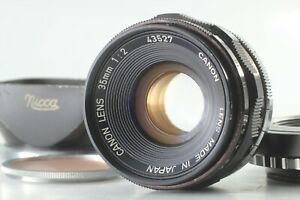 [Exc+4]  CANON Lens 35mm f/2 Leica Screw Mount L39 LTM From Japan #846