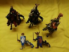 Mounted Papo Knights Bundle  x 8 items