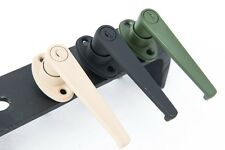 military vehicle (GREEN) locking door handle PAIR 5 TON, deuce and more