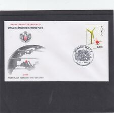 Monaco 2009 Floral Bouquet Competition First Day Cover FDC