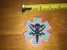 Unknown military medical unit pirate medic ems emt tactical patch