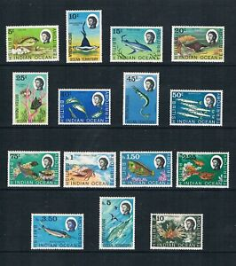 Br. Indian Ocean Terr -1968-73 Local Sea-Life - SC 16-33 [SG 16-30] MINT W2