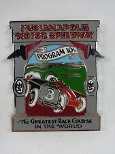 1911 Indianapolis 500 Program Cover Collector Lapel Pin Ray Harroun Marmon Wasp